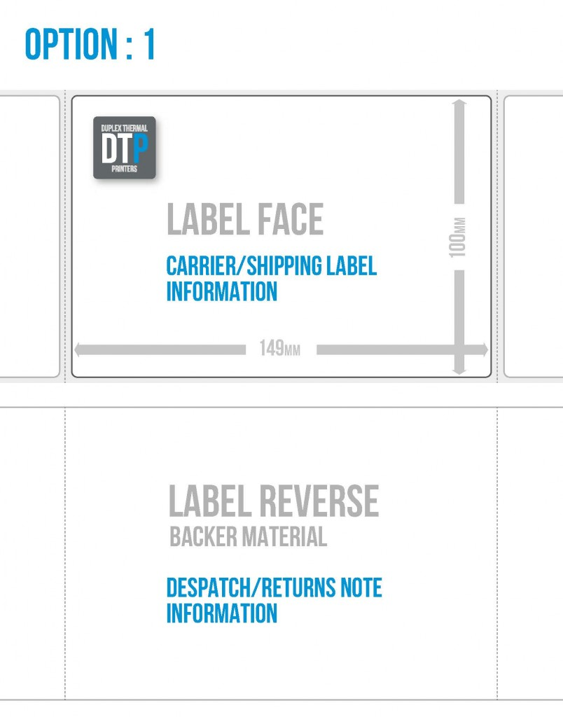 DTP Labels Option 1