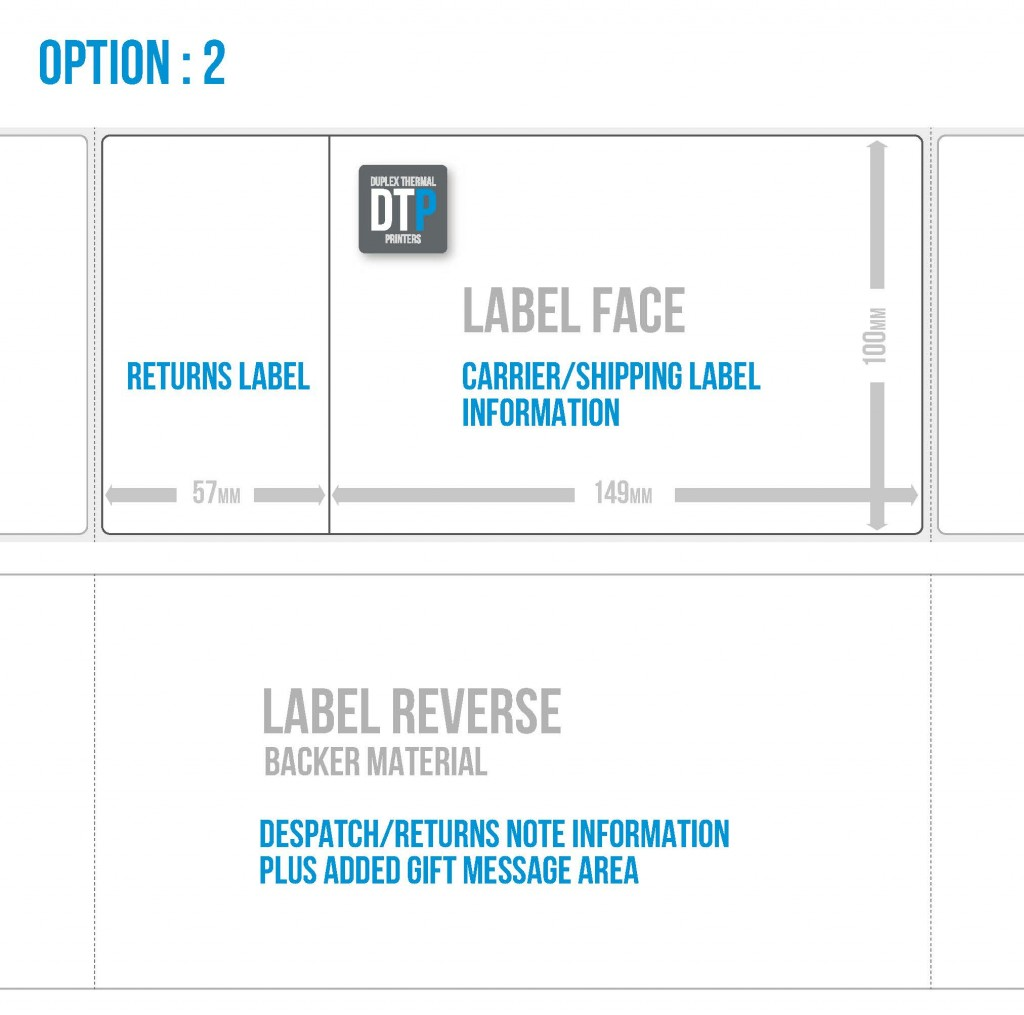 DTP Labels Option 2
