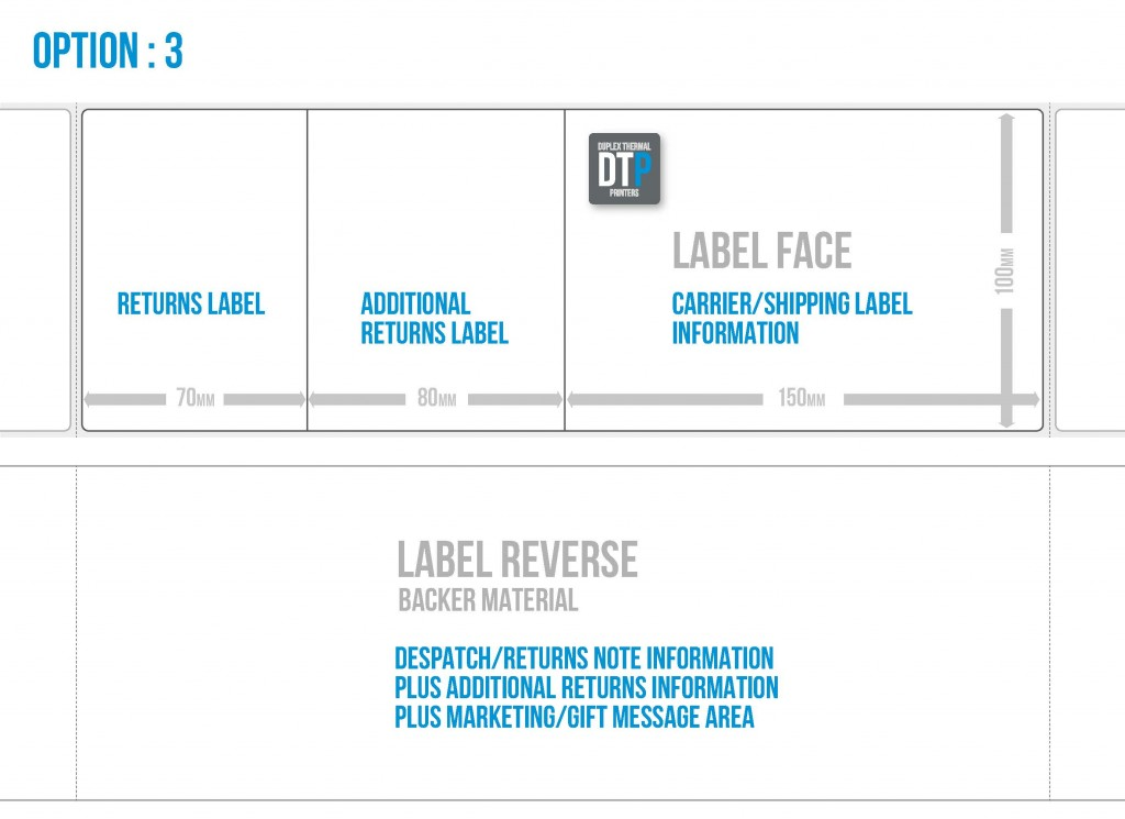 DTP Labels Option 3